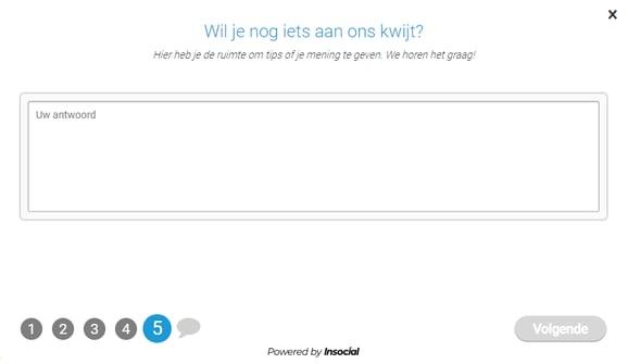 open text survey