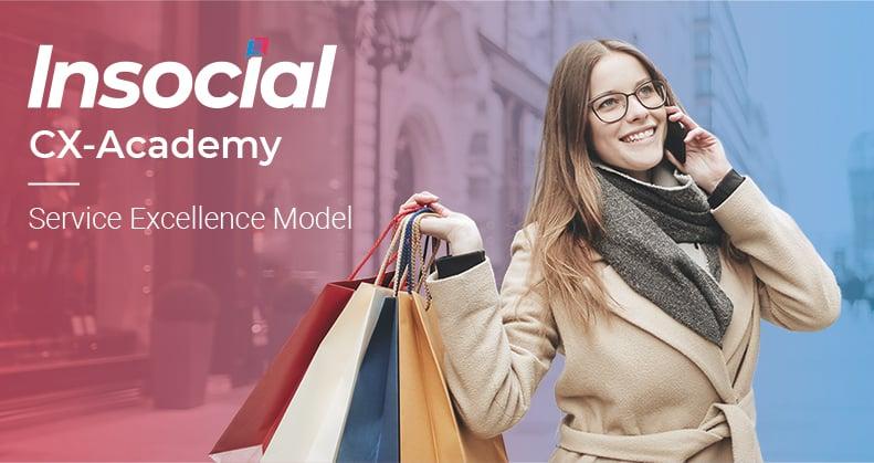 Service Excellence Model - CX-Academy van Insocial ?
