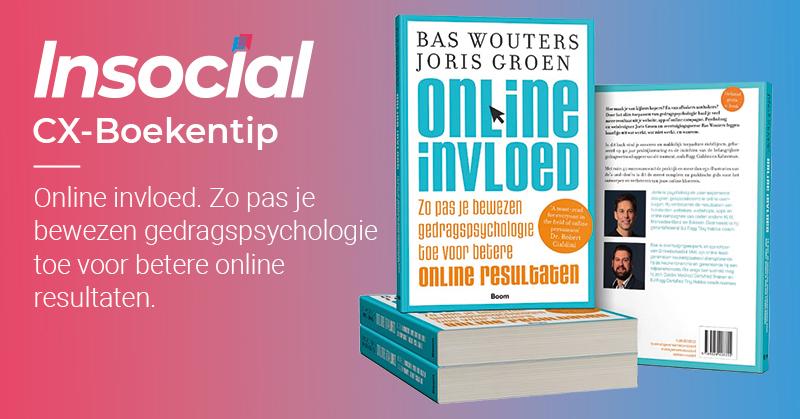 CX-Boekentip - Online invloed. Gedragspsychologie in praktijk!