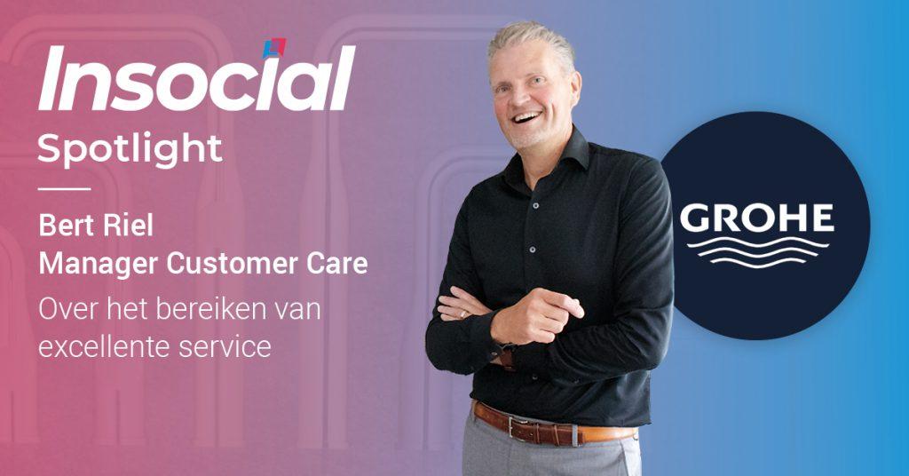 Bert Riel van GROHE over het bereiken van excellente service