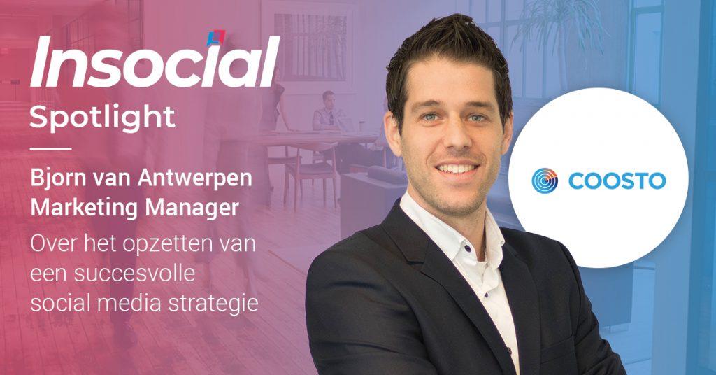 Insocial   Interview: Bjorn van Antwerpen   Social Media Strategieën
