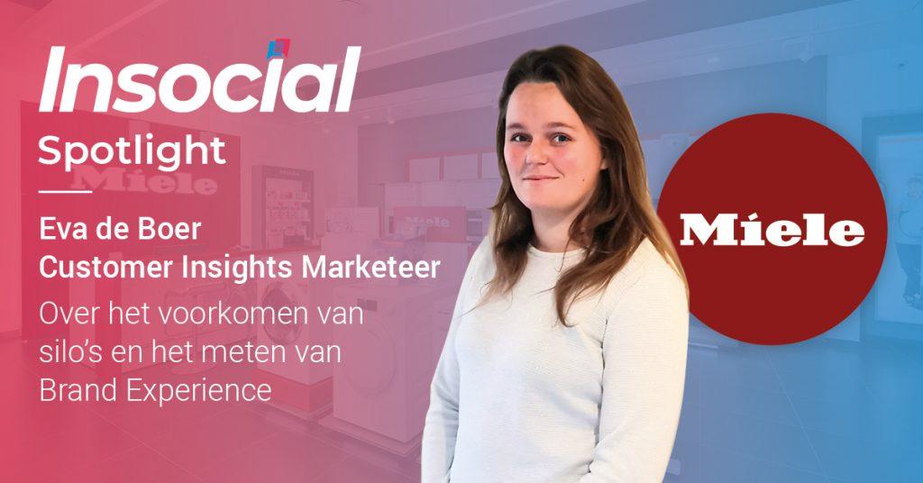 In the spotlight: Eva de Boer van Miele   Klant aan het woord