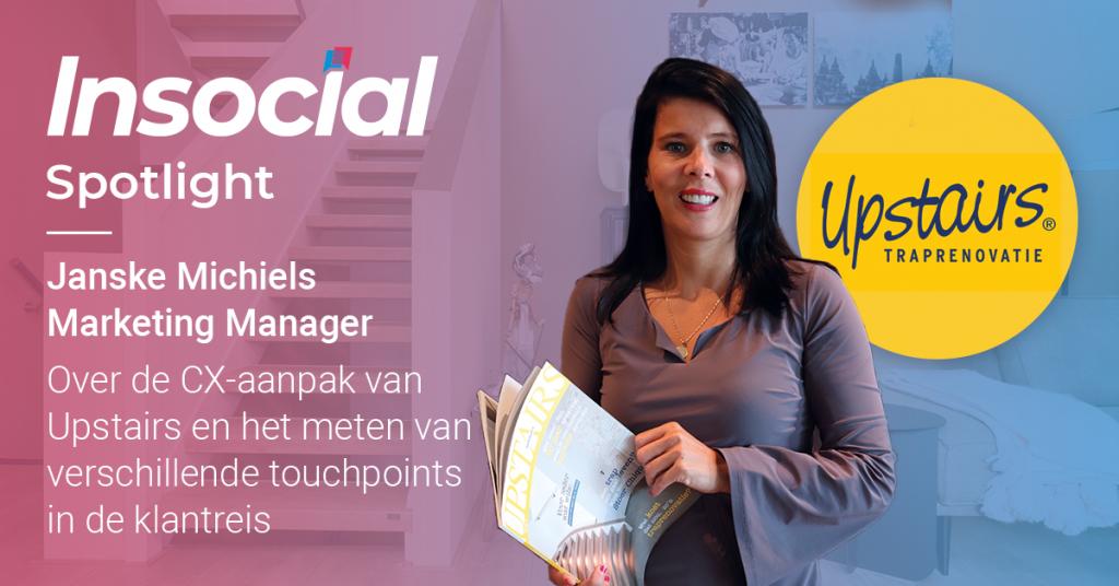 Spotlight: Janske Michiels over het succes van Upstairs